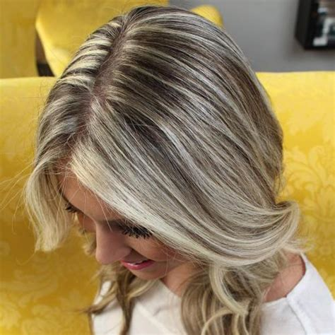 blonde streaks for greying hair 30 shades of grey silver and white highlights for eternal