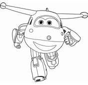 Jett Of The Super Wings Coloring Pages