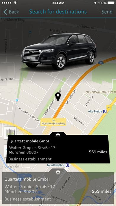 Audi Mmi Connect App by Mmi Connect On The App Store