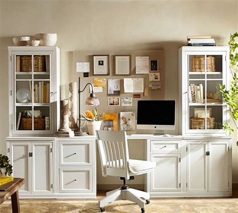 pottery barn office furniture logan small office suite pottery barn