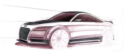 quattro sketchbook audi tt ultra quattro concept design gallery car