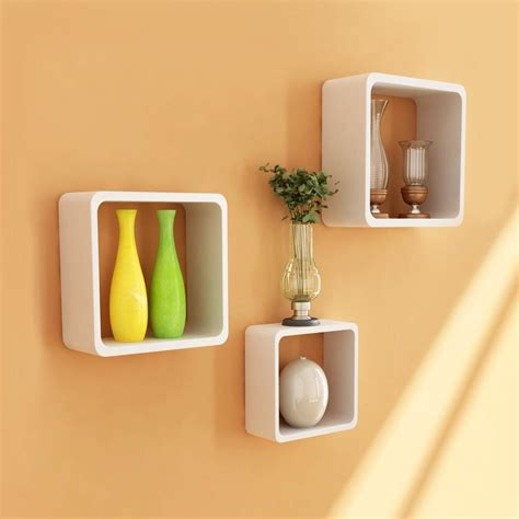 Image Of Wooden Shelves With by Wooden Wall Shelves Indoor Outdoor Decor