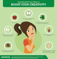 7 ways to boost your creativity scientifically proven on pinterest home remedy for