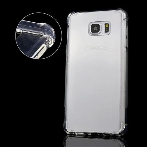 Ultra Thin Soft For Samsung On 5 Clear shockproof for samsung galaxy note 5 clear cover silicone ultra thin soft transparent tpu