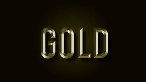 tutorial photoshop gold gold text effect in photoshop 187 photoshop tutorials