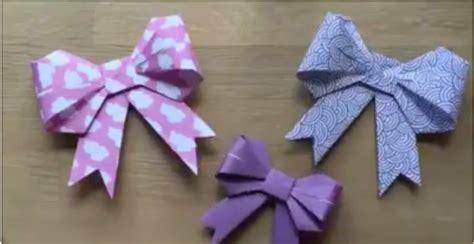 cara bikin pita kertas kado cara membuat pita dari kertas lipat yaa bunayya