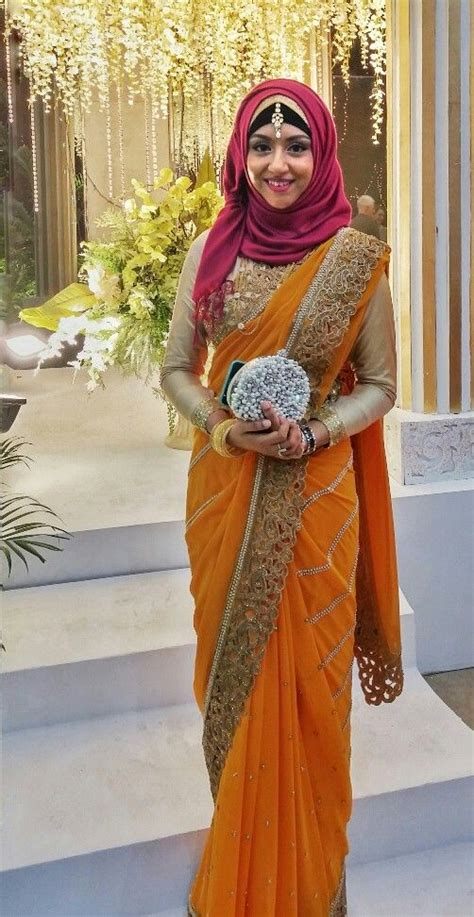 Dress Model Motif Flower Blue Stylish Fashion Impor stylish hijabs ideas with saree style