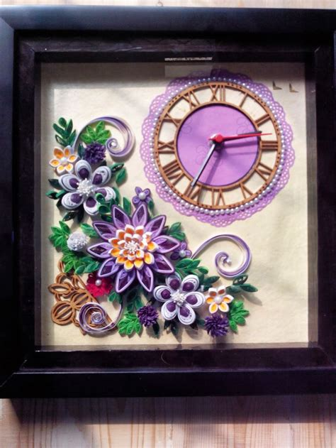 Quilling Clock Tutorial | 17 best images about quilling clocks on pinterest