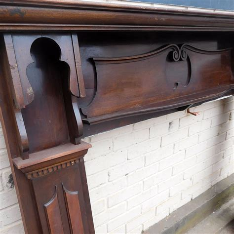 Edwardian Fireplace Surround by Edwardian Fireplace Mahogany Surround