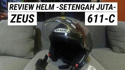 Zeus Z610 Orange Black Helm Zeus unboxing review helm zeus 611 c terbaru dan terheboh abad ini