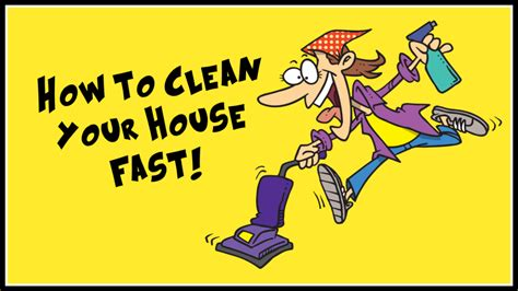 how to clean house fast and efficiently poppy juice