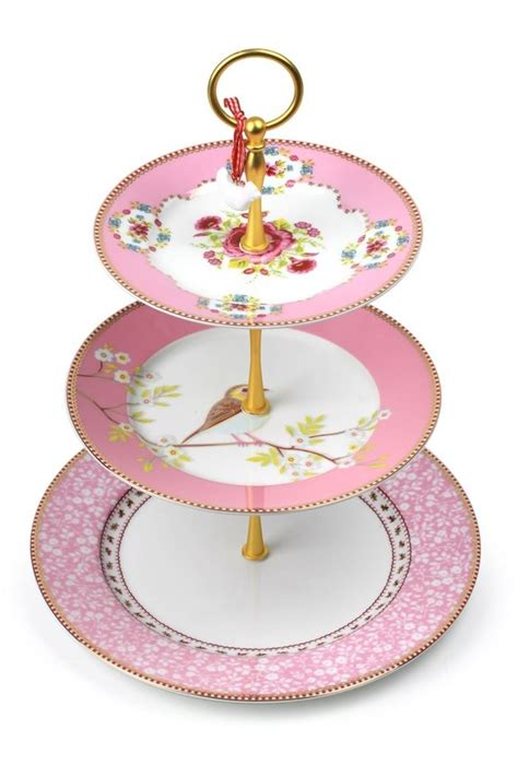 etagere pip pip studio the official website floral cake stand pink