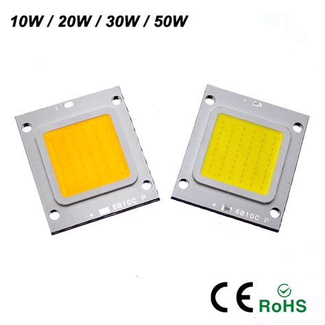 Led Lightlu Hias 40 Led Warna ynl real watt led l 10w 20w 30w 50w outdoor lighting high power led chip cold warm white for