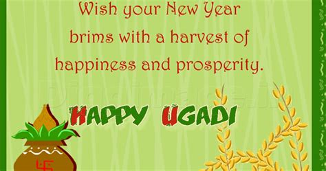 wish your telugu new year brims with a harvest of