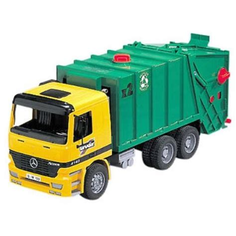 Drove The Garbage Truck garages bruder mb garbage truck colors may vary
