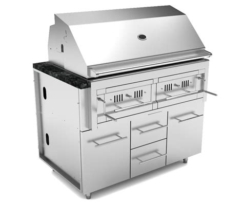 outdoor cabinet for grill tx outdoor kitchens sunstone 46 appliance cabinet for 42 charcoal grill