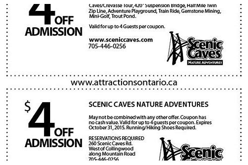 coupon scenic caves