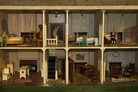german doll house furnished german doll house