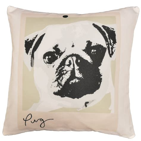 pug cushion covers pug cushion cover 17x17 quot cushion covers accessories linen4less co uk