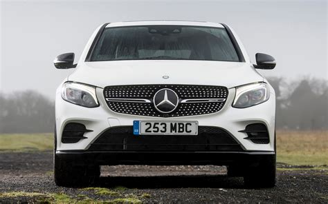 mercedes amg glc  coupe uk wallpapers  hd images car pixel
