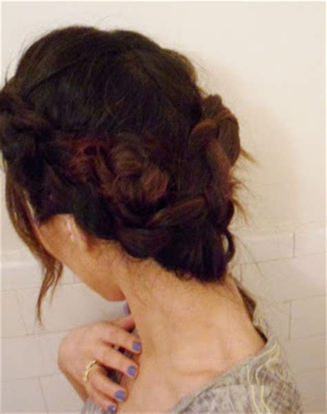 long wrap hairstyles hairstyles how to french braid wrap around updo on long