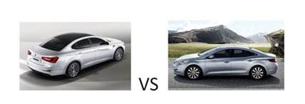 Hyundai Azera Vs Kia Cadenza Kia Cadenza Vs Hyundai Azera Vehicle Comparison