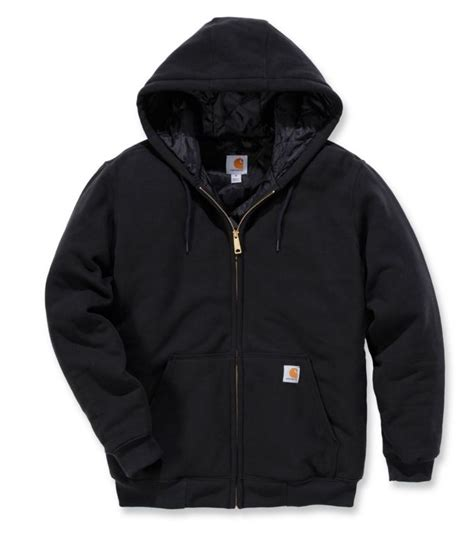 Sweatshirt Workwear Black carhartt 3 season midweight sweatshirt 100631 mammothworkwear