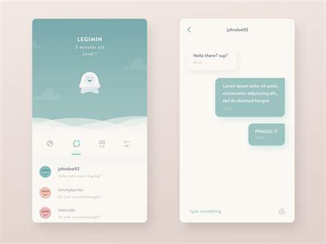 ui pattern messages chat messaging ui inspiration muzli design inspiration