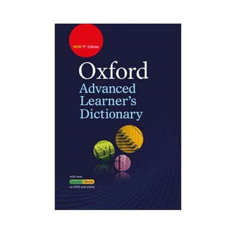 Oxford Advanced Learners Dictionary Edisi 9 oxford advanced learners dictionary 9th edition