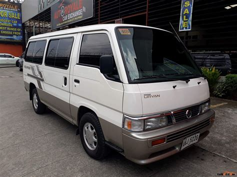 Nissan Urvan 2014 Car For Sale Metro Manila Philippines