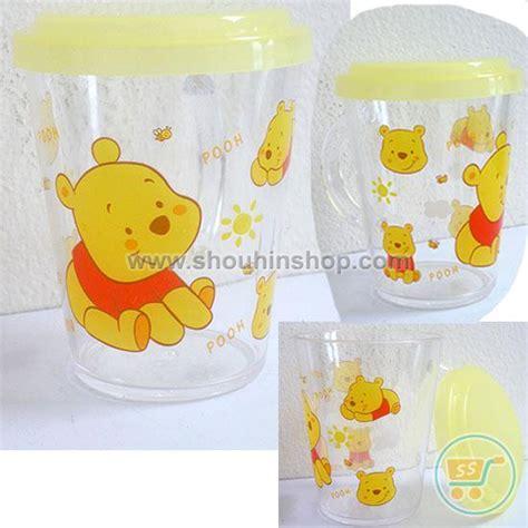 Gelas Sedotan Hello Bpa aneka pernak pernik anime karakter tokoh animasi gelas minum tutup pooh baby
