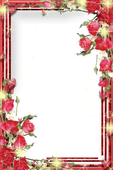 Frame Bingkai Pigura Poster Flamingo A4 frame png frames png san valentin 7 central photoshop frames flowers frames
