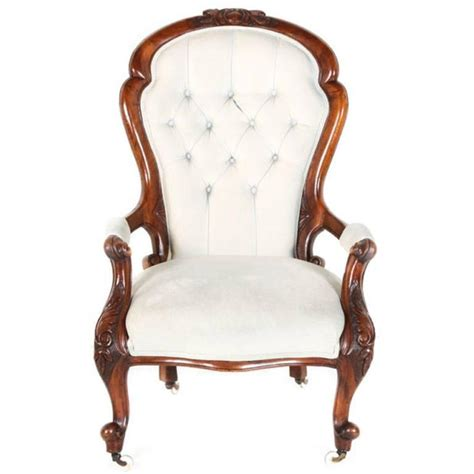 antique victorian armchair antique victorian walnut armchair at 1stdibs
