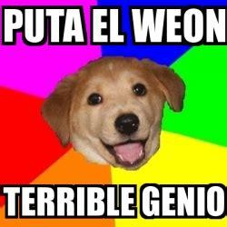 Meme Creator Terrible Memes Terrible Memes Everywhere - meme advice dog puta el weon terrible genio 16708646