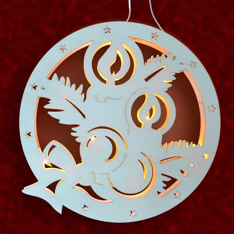 Fensterbilder Weihnachten Aus Holz by Stimmungsvolle Dekorationen Aus Holz Fensterbild