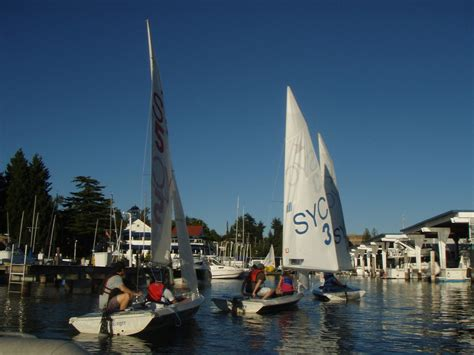 sailing boat lessons adult sailing lessons seattle yacht club