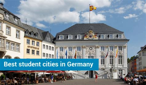 Free Mba In Germany For Indian Students by Best Student Cities In Germany To Study Live And Work