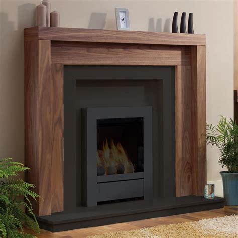 be modern kansas timber 47 quot fireplace surround