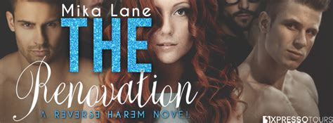 Renovation Giveaway - bitten by romance book reviews and more the renovation by mika lane cover reveal