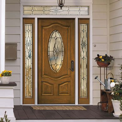 pella front doors with glass architect series deluxe 3 panel oval entry door with glass