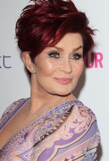 sharon osbourne hairstyles short celebrity hairstyles for women over 60