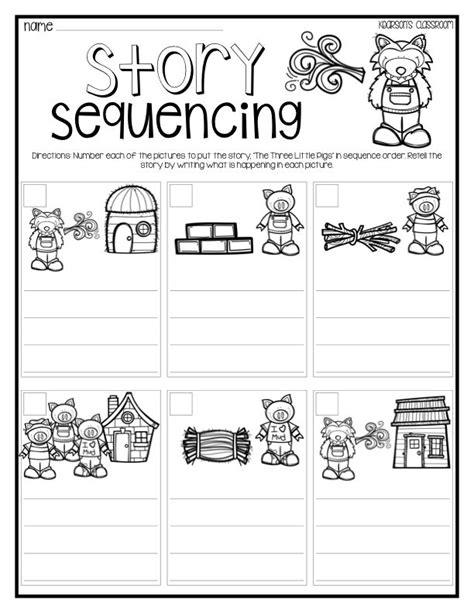 preschool sequencing activities printable 17 best ideas about three little pigs on pinterest three