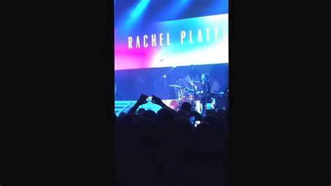 beating me up rachel platten rachel platten beating me up live concert youtube