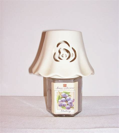 home interiors candles vintage home interiors candle jar topper candle l shade