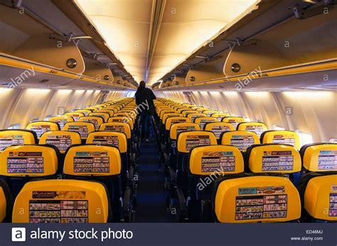 ryanair cabin ryanair boeing 737 800 cabin at warsaw modlin airport