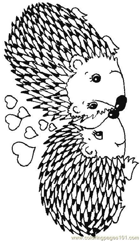 coloring page of a hedgehog free coloring pages of hedgehog apple