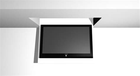 Tv Ceiling Lift Systems by Tilting Tv Ceiling Lift Hi Techsolutions