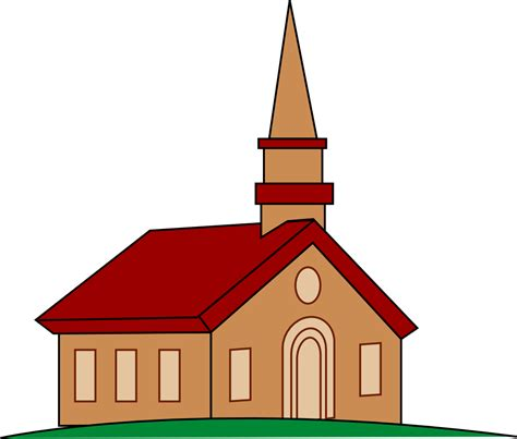Clipart Of Church free church clip