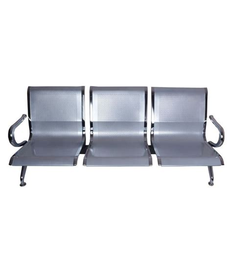 airport sofa blt 3 seater airport sofa with chrome finish buy blt 3