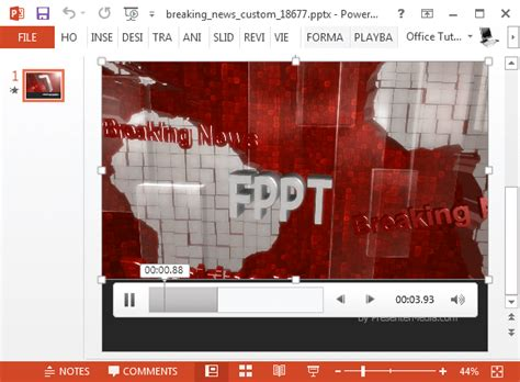 breaking news video background for powerpoint powerpoint